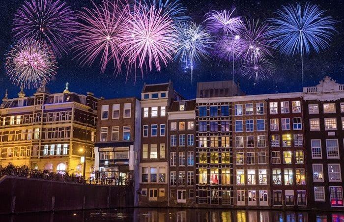 Новый год в Голландии