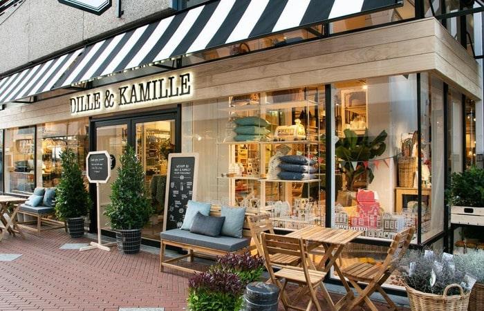 Голландские магазины Dille & KAmille