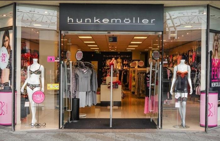 Голландские магазины Hunkemoller