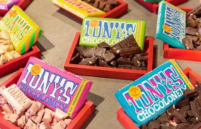 Голландские магазины Tony's chocolonely