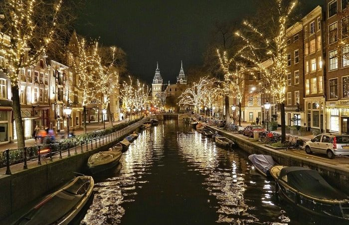 НГовый год в Амстердаме