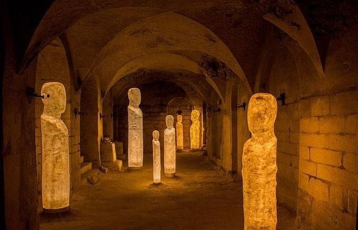 Валкенбург римские катакомбы