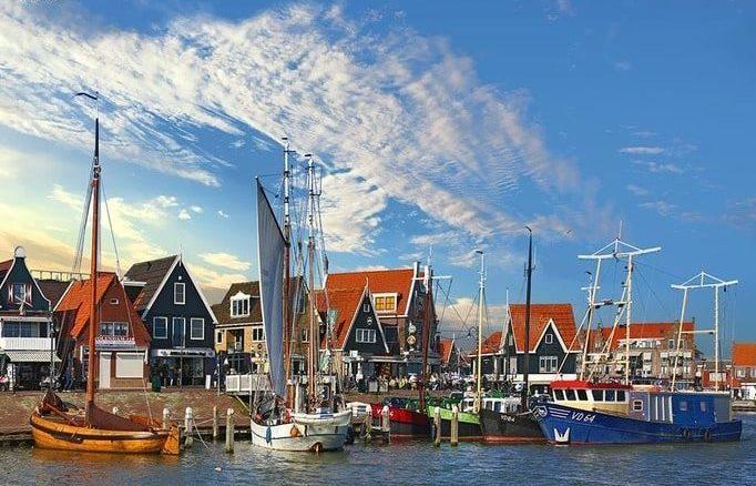 Голландские деревни Волендам