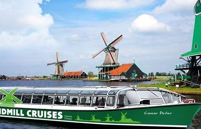 Голландские мельницы Zaanse Schans