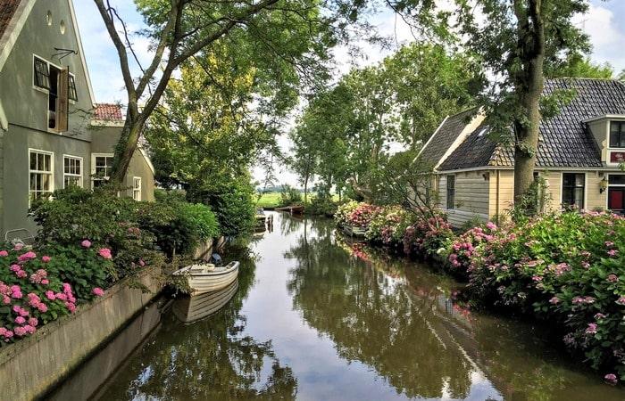 Голландские деревни рядом с Амстердамом