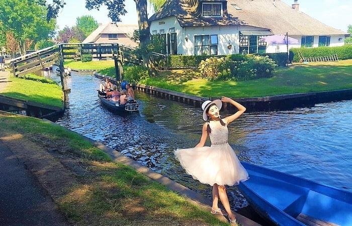 Интересные места в Голландии Гитхорн