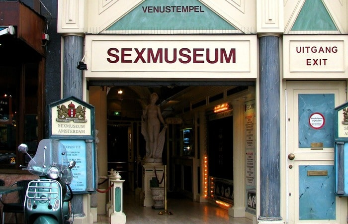 Музеи в Голландии Музей секса