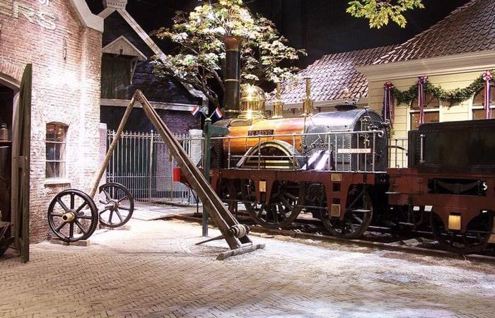 Музеи в Голландии Железнодорожный музей в Арнеме