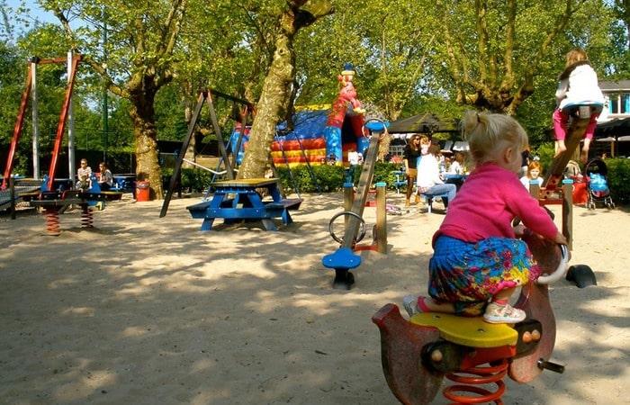 Амстердам с детьми Вондельпарк