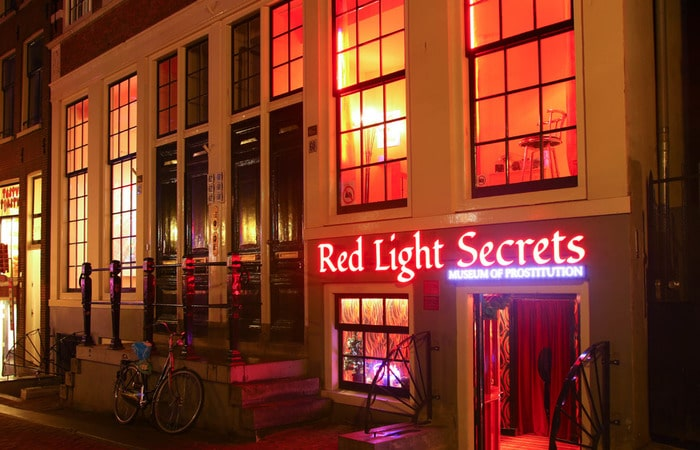 Музеи Амстердама Red Light Secrets – Museum of Prostitution