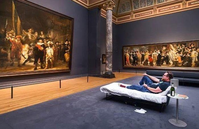 Музеи Амстердама Rijksmuseum
