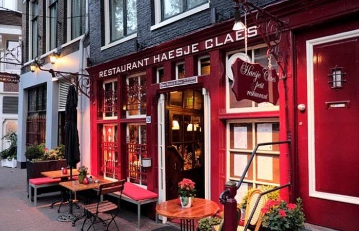 сэкономить на еде в Нидерландах Рестораны в Амстердаме