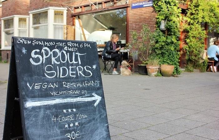 сэкономить на еде в Нидерландах Уличная еда в Амстердаме